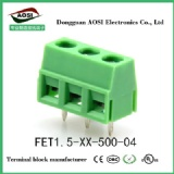FET1.5-XX-500-04 Screw Terminal Block